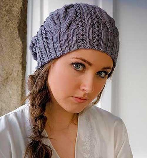 Модель дизайнерской шапки спицами от Kim Hargreaves с переводом. Обсуждение на LiveInternet - Российский Сервис Онлайн-Дневников