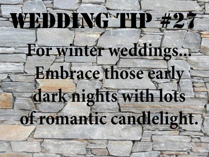 Wedding Tip #27