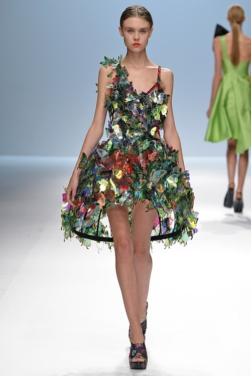 Korean Couture Designer Lie Sang Bong seoul fashion week s/s 2013