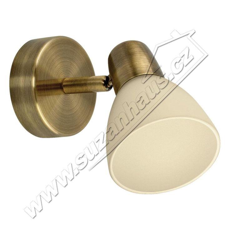 Reflektorek ALGA INSPIRE- 40W  - 310,-     PROVEDENÍ: patina     OBJÍMKA: E14     NAPĚTÍ: 230V     VÝKON: 1x40W     VÝŠKA: 170mm     ŠÍŘKA: 120mm     VÁHA: 0,5 kg