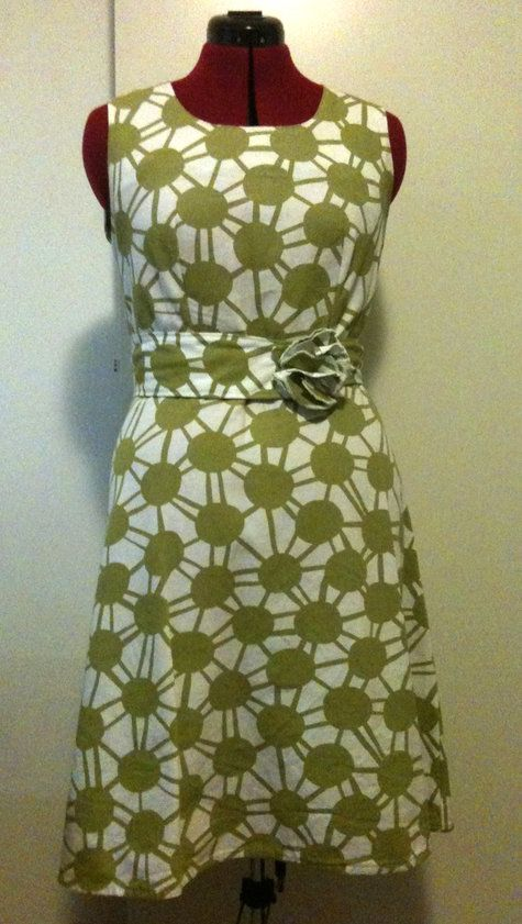 Simple and beautiful dress (pattern/instructions)