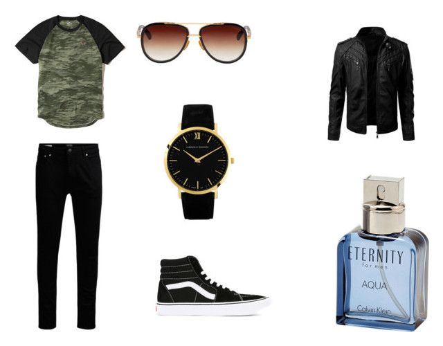Sin sentido by camiii-anabella on Polyvore featuring Hollister Co., Vans, Larsson & Jennings, Dita, Calvin Klein, men's fashion and menswear