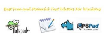 Best Free Text Editors