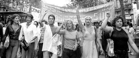 Así han cambiado las marchas del Orgullo Gay en España desde 1977