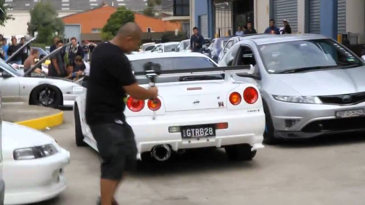 nissan skyline gtr r34 from hell