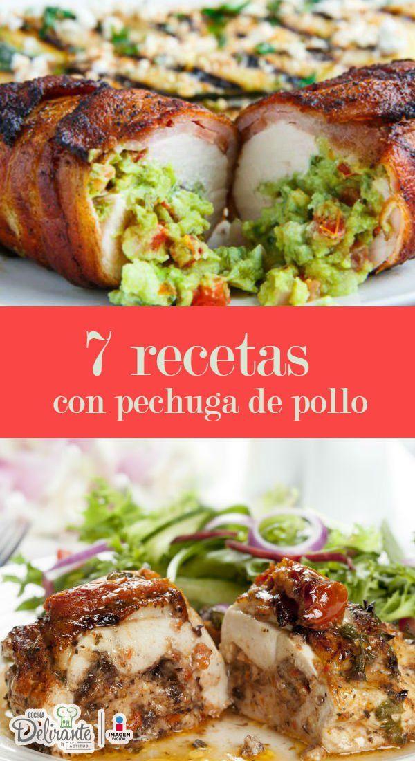 recetas con pechugas de pollo | CocinaDelirante