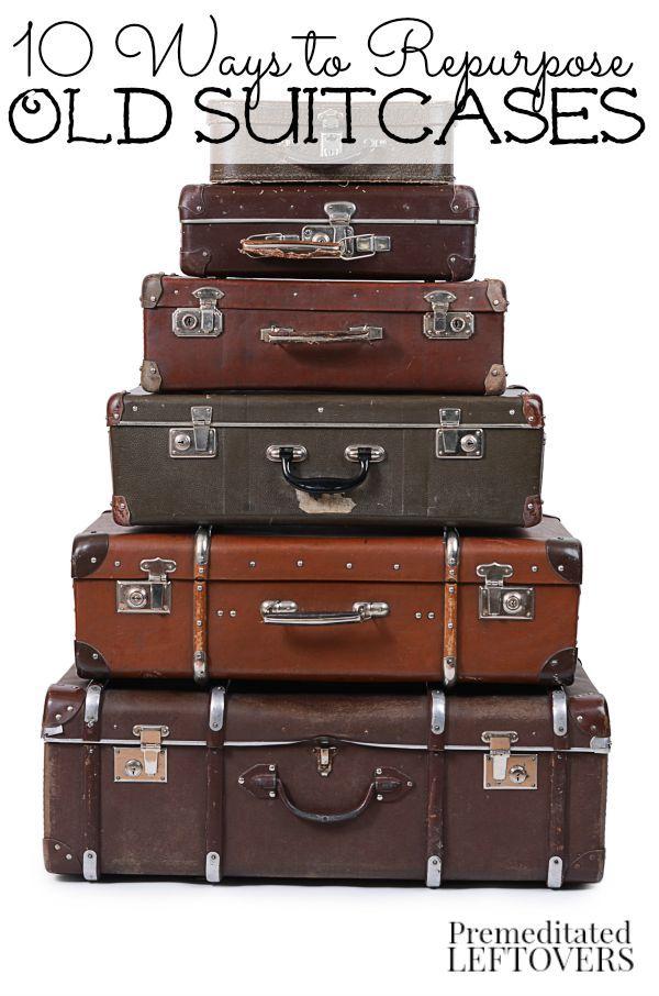 Reizen was ooit een passie... maar wat doe je met valiezen die je daarvoor niet meer gebruikt? #lifehack