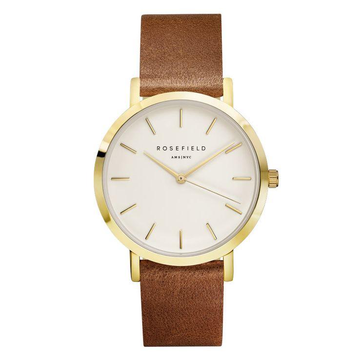 Watch Golden Genuine Leather Quartz Movement Water Resistant 3ATM Watch Women Dress Men Sports Famous Brand Watch