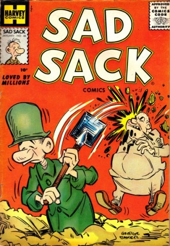 Sad Sack comic books! ❤ Please visit my Facebook page at: www.facebook.com/jolly.ollie.77