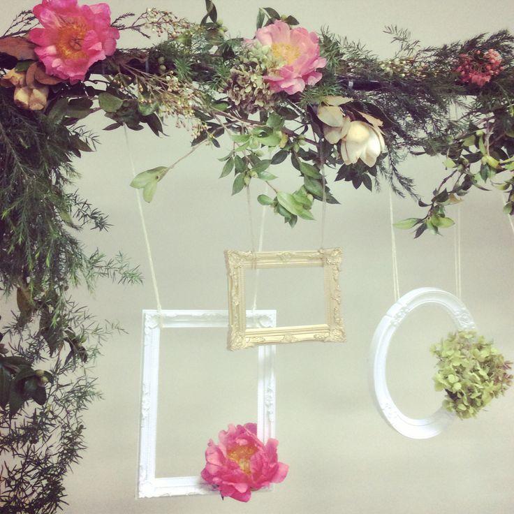 Floral Garland + Frames