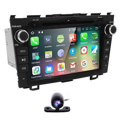 "8"" Car DVD GPS player For HONDA CRV Android 7.1 Quad core Radio Stereo WIFI 3G"