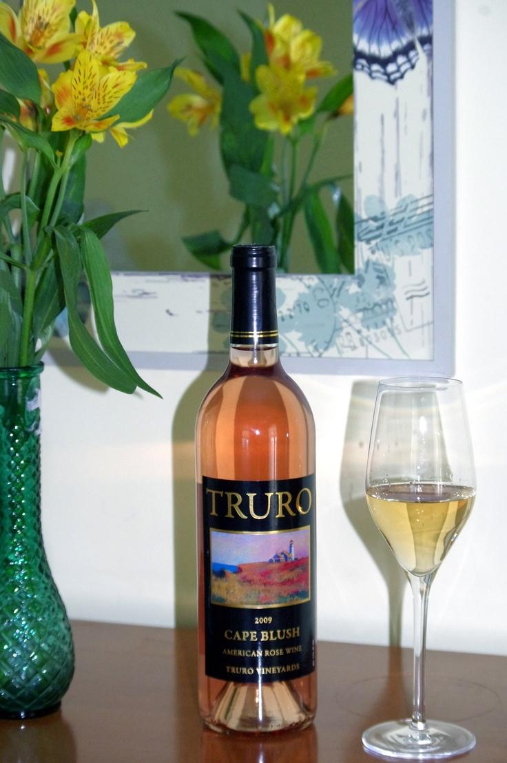 Enjoy a bottle of local Truro Vineyards rose: Vineyard Rose