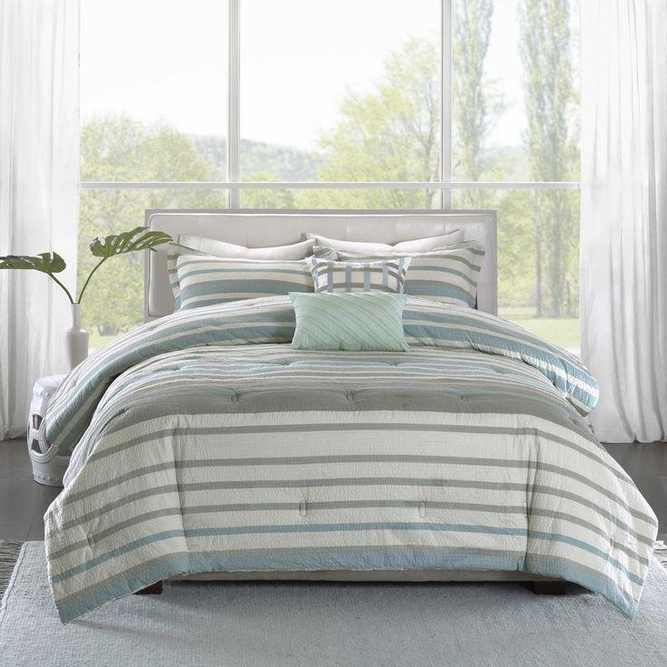 madison park pure burke 5piece cotton comforter set duvet cover
