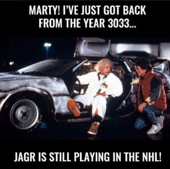 Jagr is still playing in the NHL! #hockey hahahahaha!