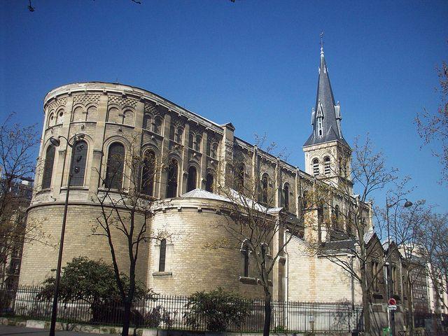 Eglise Notre-Dame de la Gare, Place Jeanne d'Arc, Paris 13e