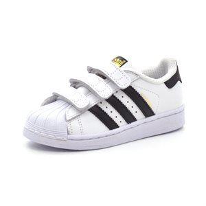 - Adidas Superstar Foundation Cf C hvid/sort