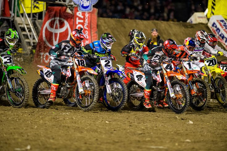 Provisional Entry Lists For The 2018 Anaheim One Supercross  ||  Provisional entry lists for the 250 and 450 classes at the 2018 Anaheim One Supercross, round one of the 2018 Monster Energy Supercross Series. https://motocross.transworld.net/news/2018-anaheim-one-supercross-provisional-entry-list/?utm_campaign=crowdfire&utm_content=crowdfire&utm_medium=social&utm_source=pinterest
