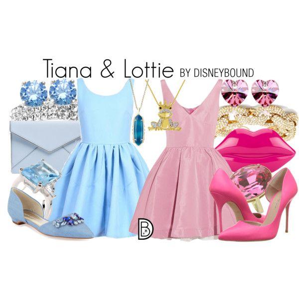 tiana and lottie