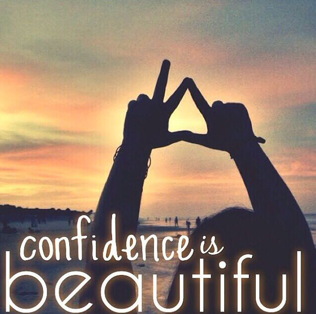 Confidence is Beautiful!