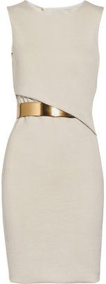 ShopStyle: Gucci Crepe-jersey backless dress