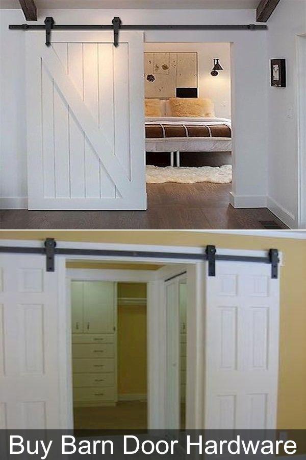 Top Mount Barn Door Hardware Barn Door Hardware For Small Doors Single Barn Door In 2020 Barn Door Hardware Barn Door Door Hardware