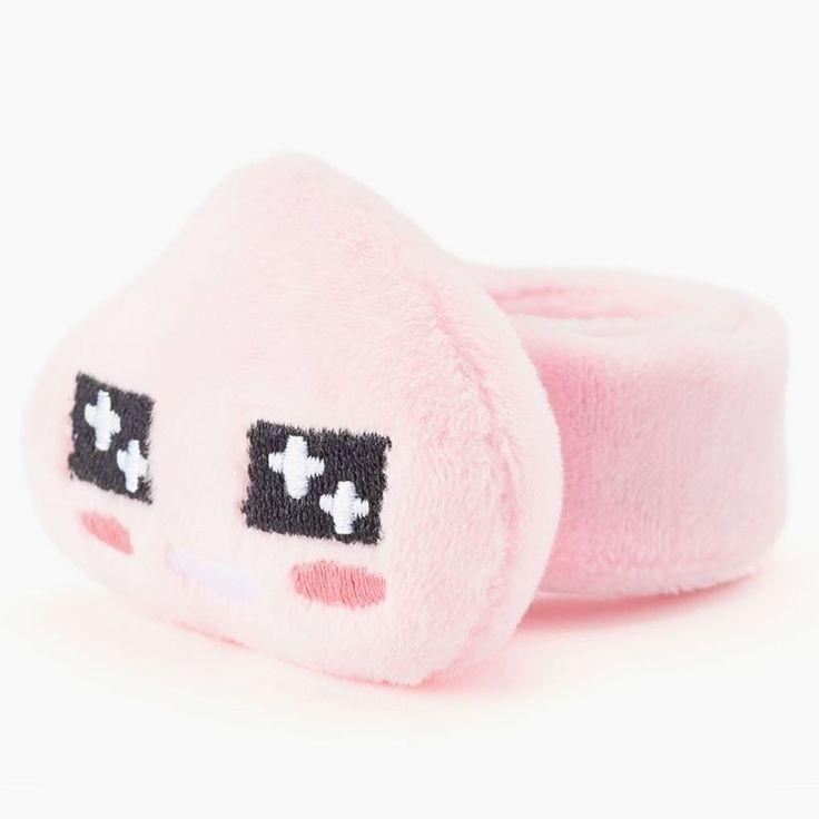 Kakao Friends official Goods Apeach Face Plush Bracelet Accessory GKKF0380 #KakaoFriends