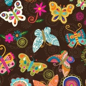 Butterfly print fabricCrafts Ideas, Carolyn Gavin, Soul Butterflies, Gardens Sewing, Patchwork Wings, Butterflies Brown, Wings Chocolates, Butterflies Fabrics, Soul Gardensewmamasew