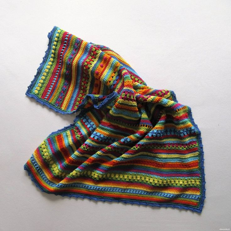 Hier findest du alle fertigen Crochet Along Babydecken, von denen wir Fotos erhalten haben: Den Anfang macht Ute aus Mainz. Sie hat das erste Foto geschickt