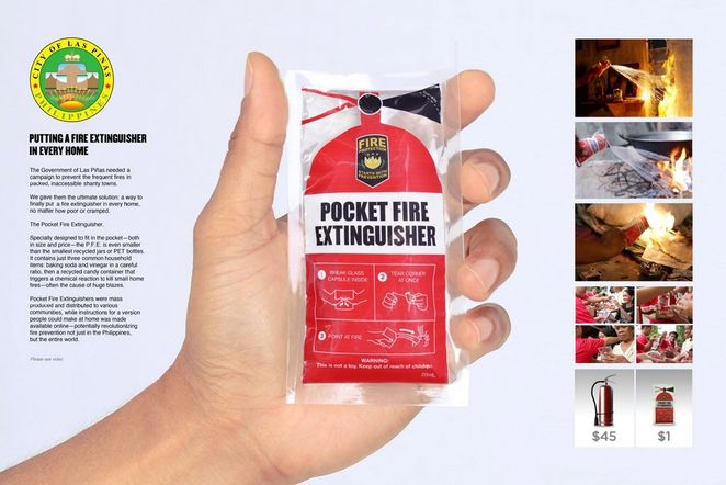 $1 fire extinguisher fits in a pocket, can be life saving (video)