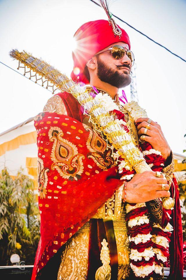 Stylish groom! Photo by Sandeep Gadhvi Photography, Ahmedabad #weddingnet #wedding #india #indian #indianwedding #weddingdresses #mehendi #ceremony #realwedding #lehengacholi #choli #lehengaweddin#weddingsaree #indianweddingoutfits #outfits #backdrops #groom #wear #groomwear #sherwani #groomsmen #bridesmaids #prewedding #photoshoot #photoset #details #sweet #cute #gorgeous #fabulous #jewels #rings #lehnga