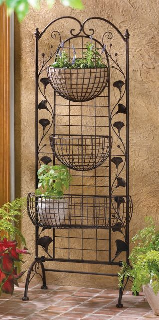 17 Best Images About Tiered Plant Stand On Pinterest