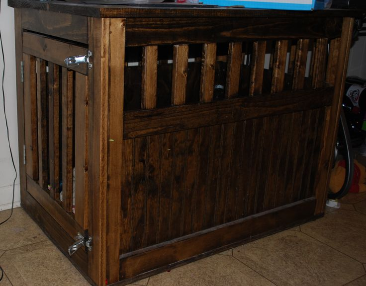 Large Dog Crate Furniture Plans Woodworking Projects Amp Plans