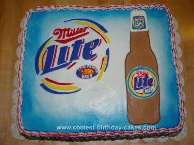 Coolest Miller Lite 21st Birthday Cake 83