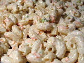 I Believe I Can Fry: Hawaiian Macaroni Salad, dressing similar to Alabama White BBQ Sauce