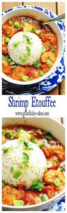Shrimp Etouffee | Gr Shrimp Etouffee | Grandbaby Cakes...  Shrimp Etouffee | Gr Shrimp Etouffee | Grandbaby Cakes #mardigras Recipe : http://ift.tt/1hGiZgA And @ItsNutella  http://ift.tt/2v8iUYW