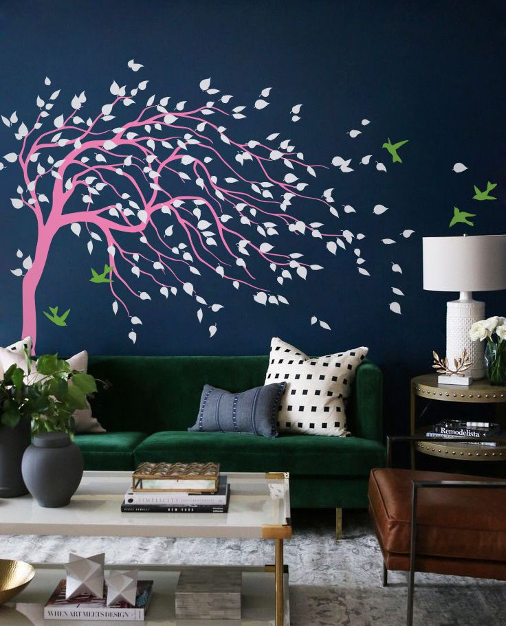 Wind Tree Magic In Your Room Family Wall Art Decals Home Goods Tree Family Wind Love Wall Nursery Wall Decals Nursery Diy Projects Family Wall Art #tree #wall #decals #for #living #room