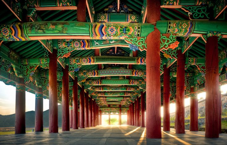 Korean Architectural Art -- Photo by wulfman65 on deviantART