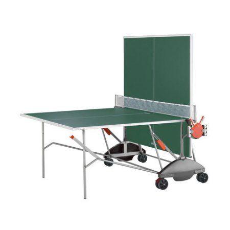 Kettler Match 5.0 Weatherproof Outdoor Table Tennis Table- Green
