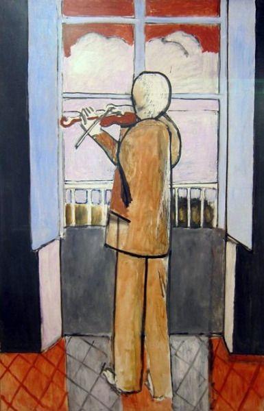 125 best toute musique qui ne peint rien n 39 est que du for Le violoniste a la fenetre henri matisse