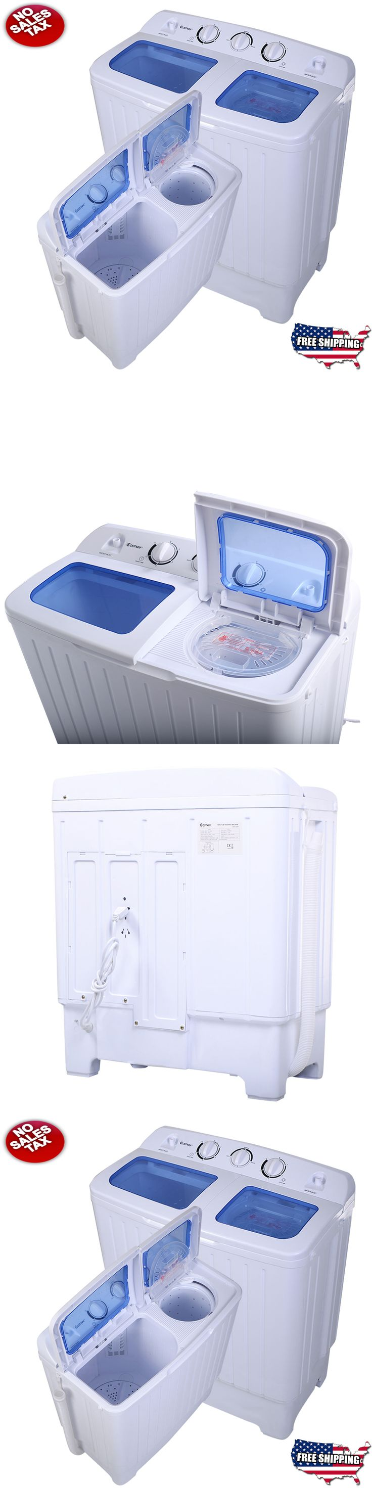 Washer and Dryer Sets 71257: All In One Portable Washing Machine Cleaner Dryer Apartment Washer Combo Compact -> BUY IT NOW ONLY: $123.99 on eBay!