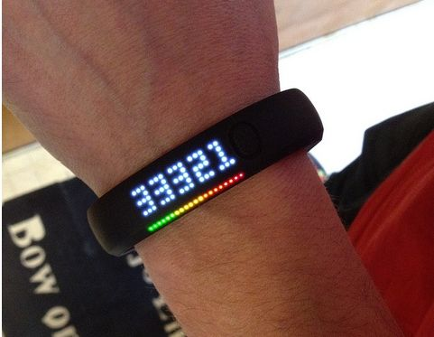 Nike+fuelBand - Big time workout fiends love tech products like this to track their progress. It's #alwaysthere.