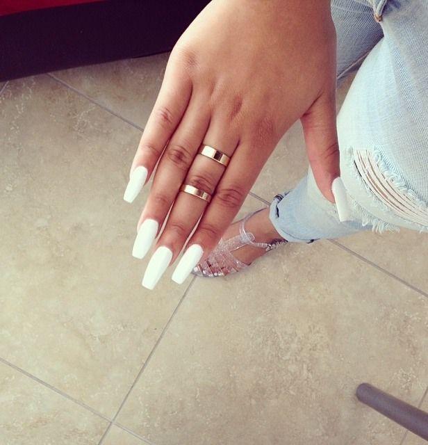 The color, yes! The shape I even like and I shape my nails to a slight point.