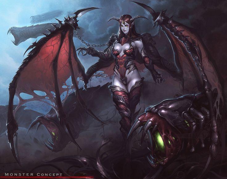 Demonic Artwork | ... ___demon_empress | Coolvibe - Digital ArtCoolvibe – Digital Art