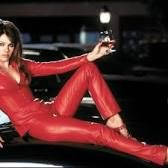 Devil costume from the movie Bedazzled with Elizabeth Hurley rotten tomatoes