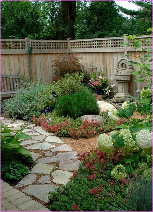 25 best narrow backyard ideas on pinterest modern lawn for Yard landscape design