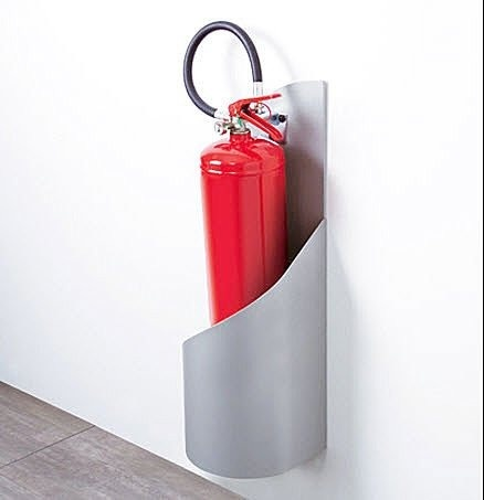 fire-extinguisher stand GRISU by C. Bevegni & G. Friscione Caimi Brevetti SpA