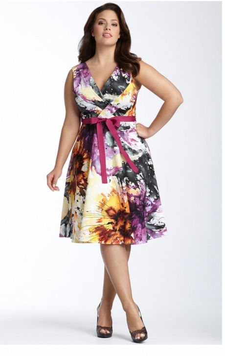 plus size summer clothes for women   Home Latest Summer Dresses Fashion Trends for Plus Size Women 03. This dress is near perfection.