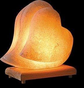 Double Heart Lamp Salt