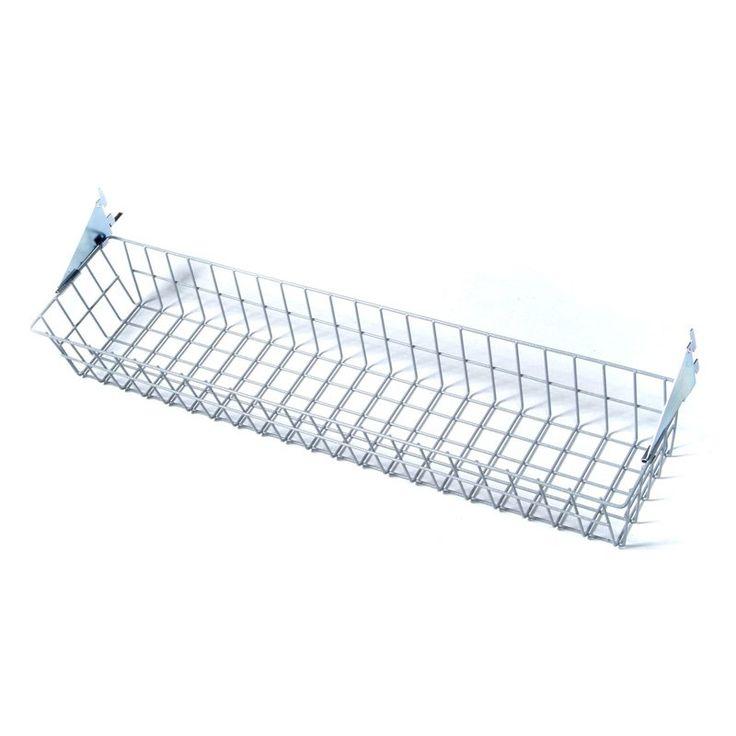 Triton Storability Epoxy Coated Wire Basket with Lock-On hanging Brackets - 1715