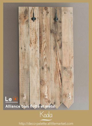 les 12 meilleures images du tableau porte manteaux sur pinterest bois flott brut et fait main. Black Bedroom Furniture Sets. Home Design Ideas